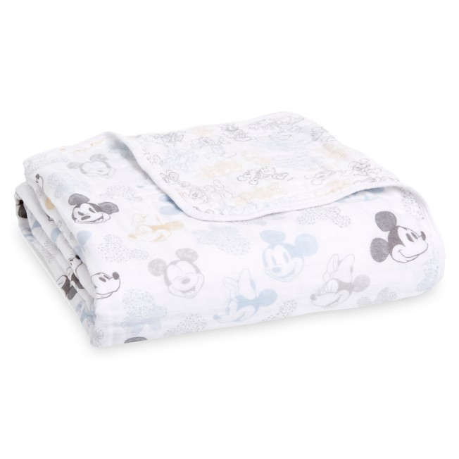 Mickey and Minnie Mouse Dream Blanket by aden + anais®