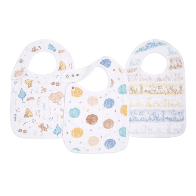 Winnie the Pooh Snap Bib Set for Baby by aden + anais®