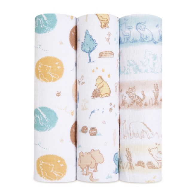 Winnie the Pooh Swaddle Blanket Set for Baby by aden + anais®