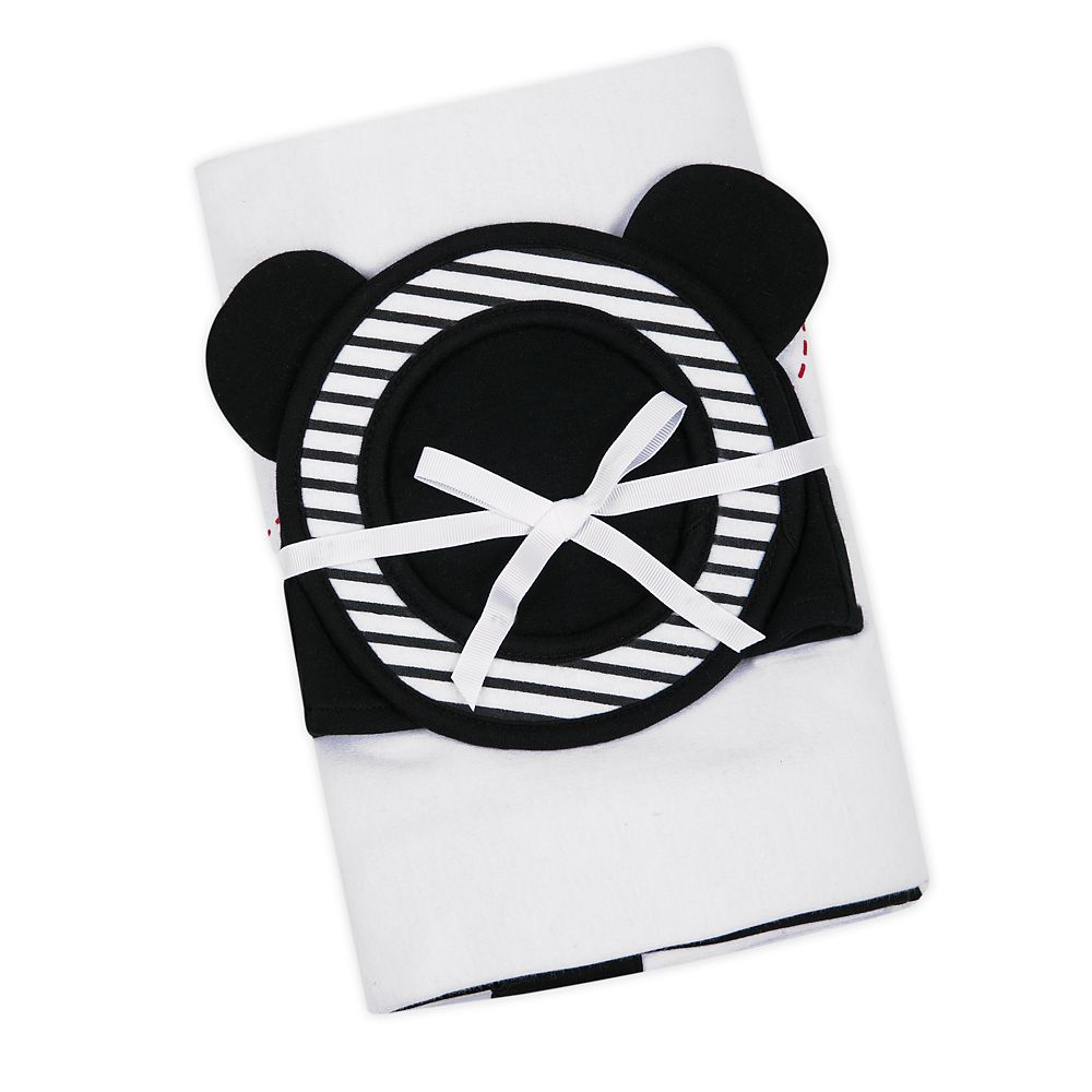 Mickey Mouse Milestone Blanket Set for Baby – Personalized