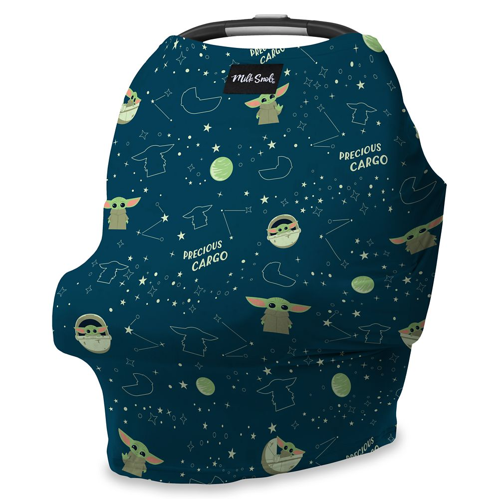 DISNEY COLLECTION The Original Milk Snob Infant Car Seat Cover and Nursing Cover Multi-Use 360/° Coverage Breathable Stretchy Winnie the Pooh