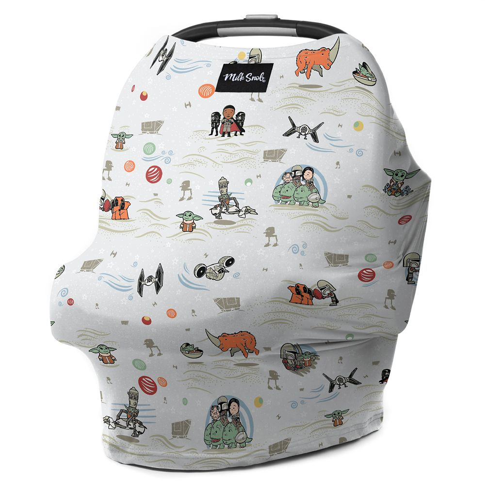 Star Wars: The Mandalorian Baby Seat Cover by Milk Snob