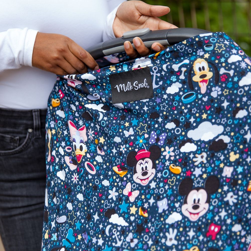 Mickey Mouse and Friends Baby Seat Cover by Milk Snob