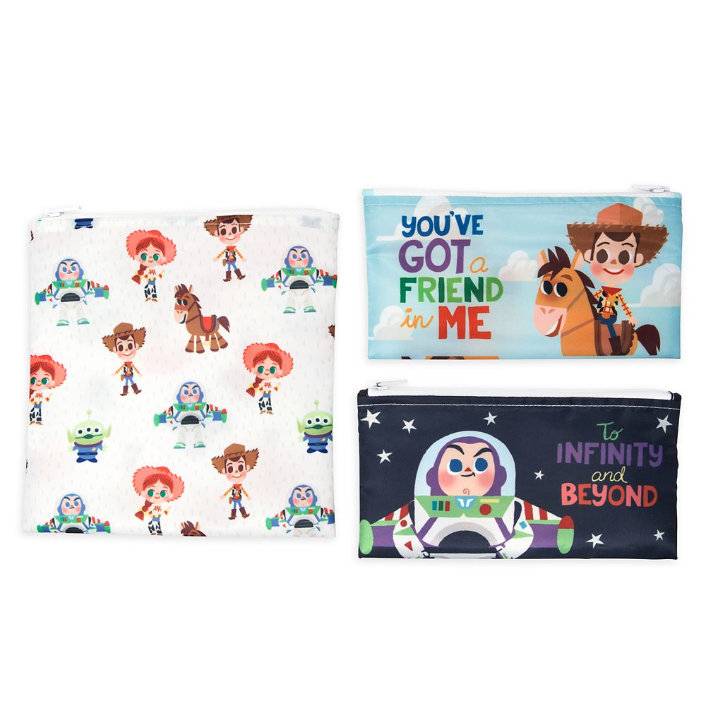 Toy Story Snack Bag Set for Baby by Bumkins