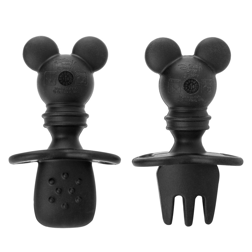 Mickey Mouse Silicone Chewtensils for Baby by Bumkins