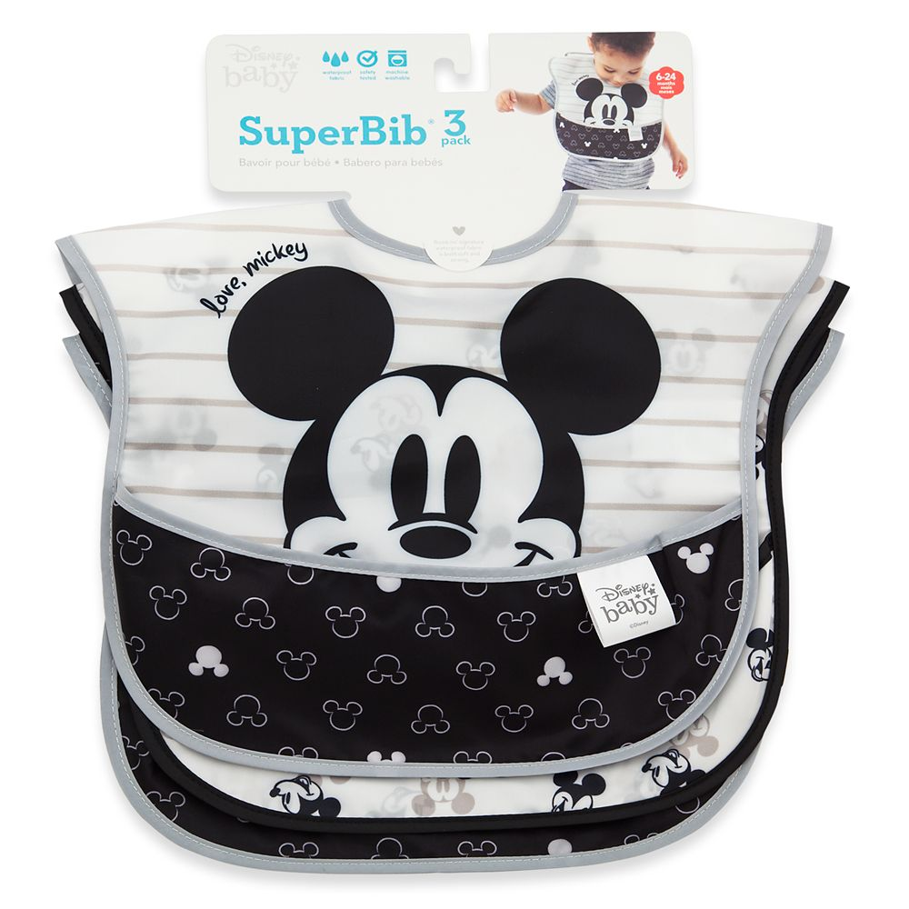 Mickey Mouse Superbib Set for Baby by Bumkins