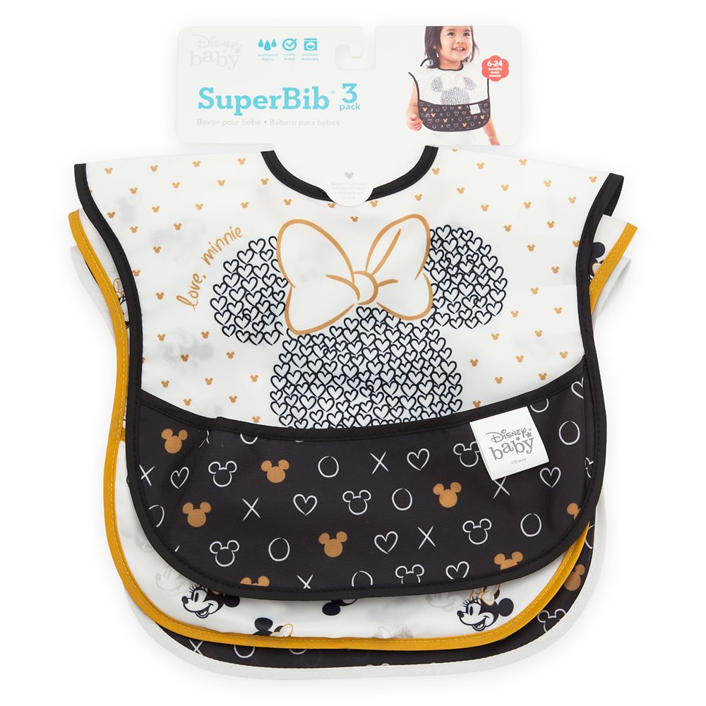 Minnie Mouse Superbib Set for Baby by Bumkins