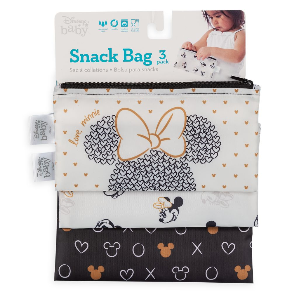 Minnie Mouse Snack Bag Set for Baby by Bumkins