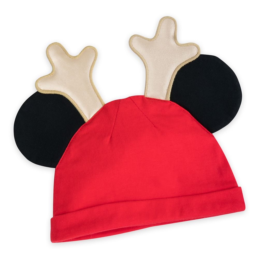 Mickey Mouse and Friends Holiday Blanket and Hat Photo Set for Baby