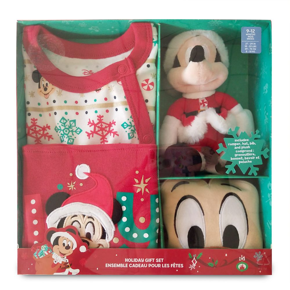 Mickey Mouse Holiday Gift Set for Baby