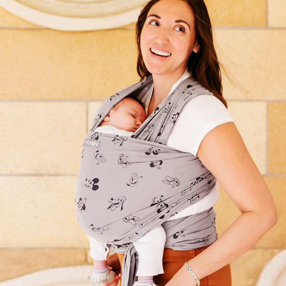 Mickey Mouse and Friends MOBY Classic Wrap Carrier for Baby