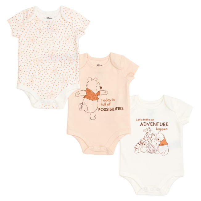 Winnie the Pooh and Friends Bodysuit Set for Baby