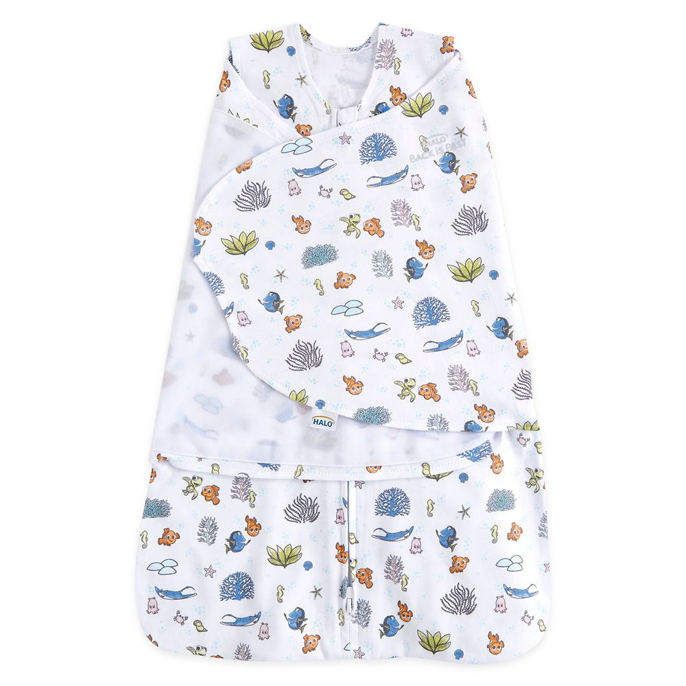 Finding Nemo HALO Easy Swaddle for Baby – White