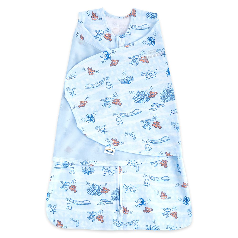 Finding Nemo HALO Easy Swaddle for Baby – Blue