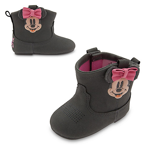 Minnie Mouse Booties for Baby
