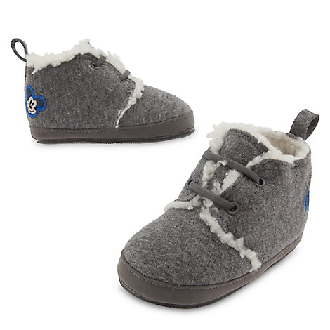 Mickey Mouse Crib Shoes for Baby