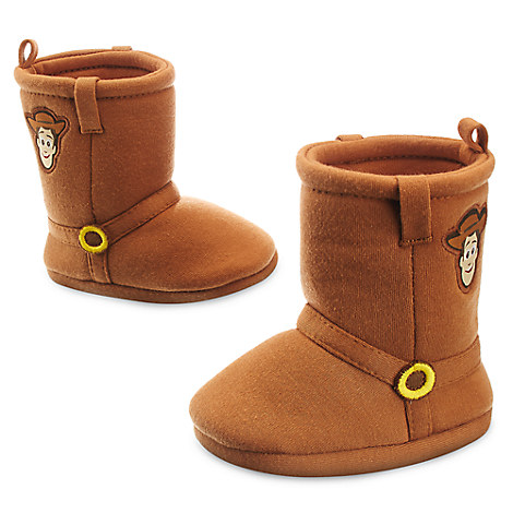 Woody Costume Boots for Baby