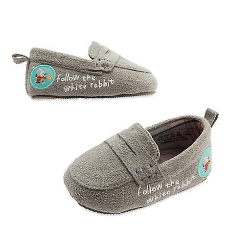 Alice in Wonderland Loafer Crib Shoes for Baby
