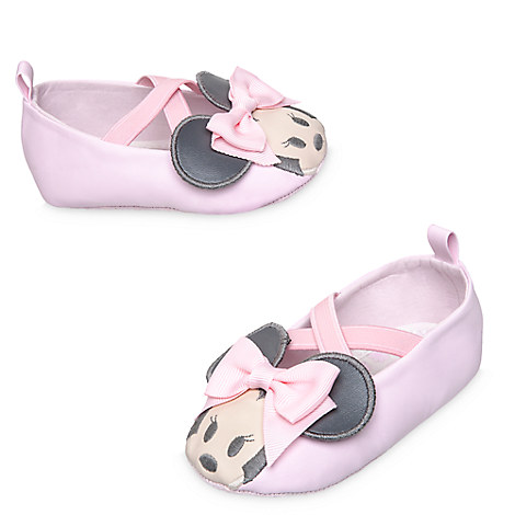 Minnie Mouse Crib Shoes for Baby