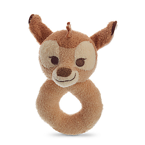 Bambi Plush Rattle for Baby