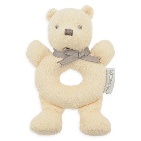 Winnie the Pooh Classic Plush Rattle for Baby