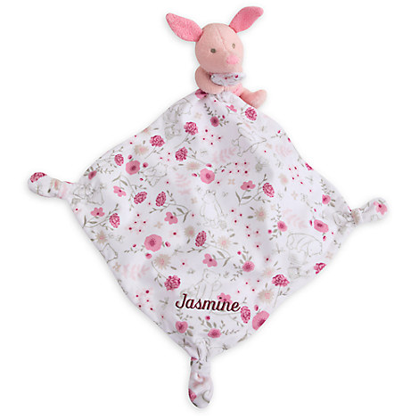 Piglet Classic Plush Blankie for Baby - Personalizable