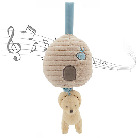 Winnie the Pooh Classic Plush Musical Pull for Baby