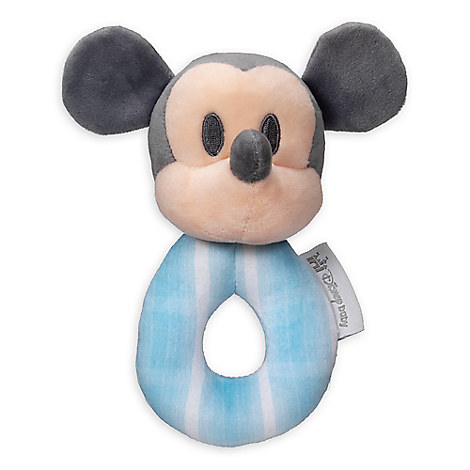 Mickey Mouse Plush Rattle Ring for Baby