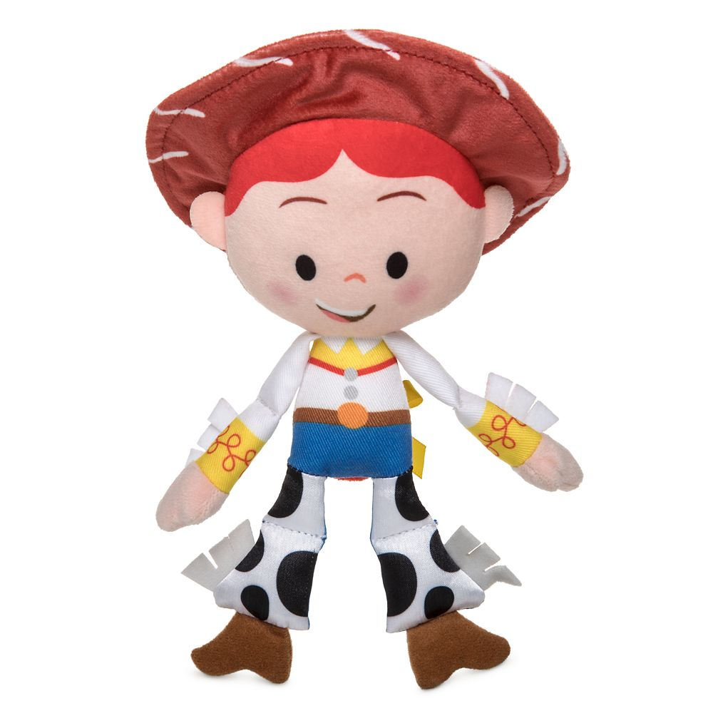 Jessie Plush Rattle for Baby – Toy Story