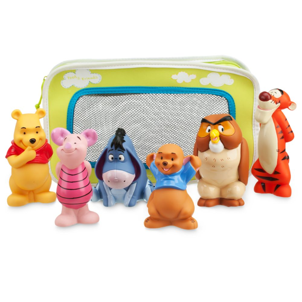 Winnie the Pooh and Pals Bath Toy Set for Baby Official shopDisney