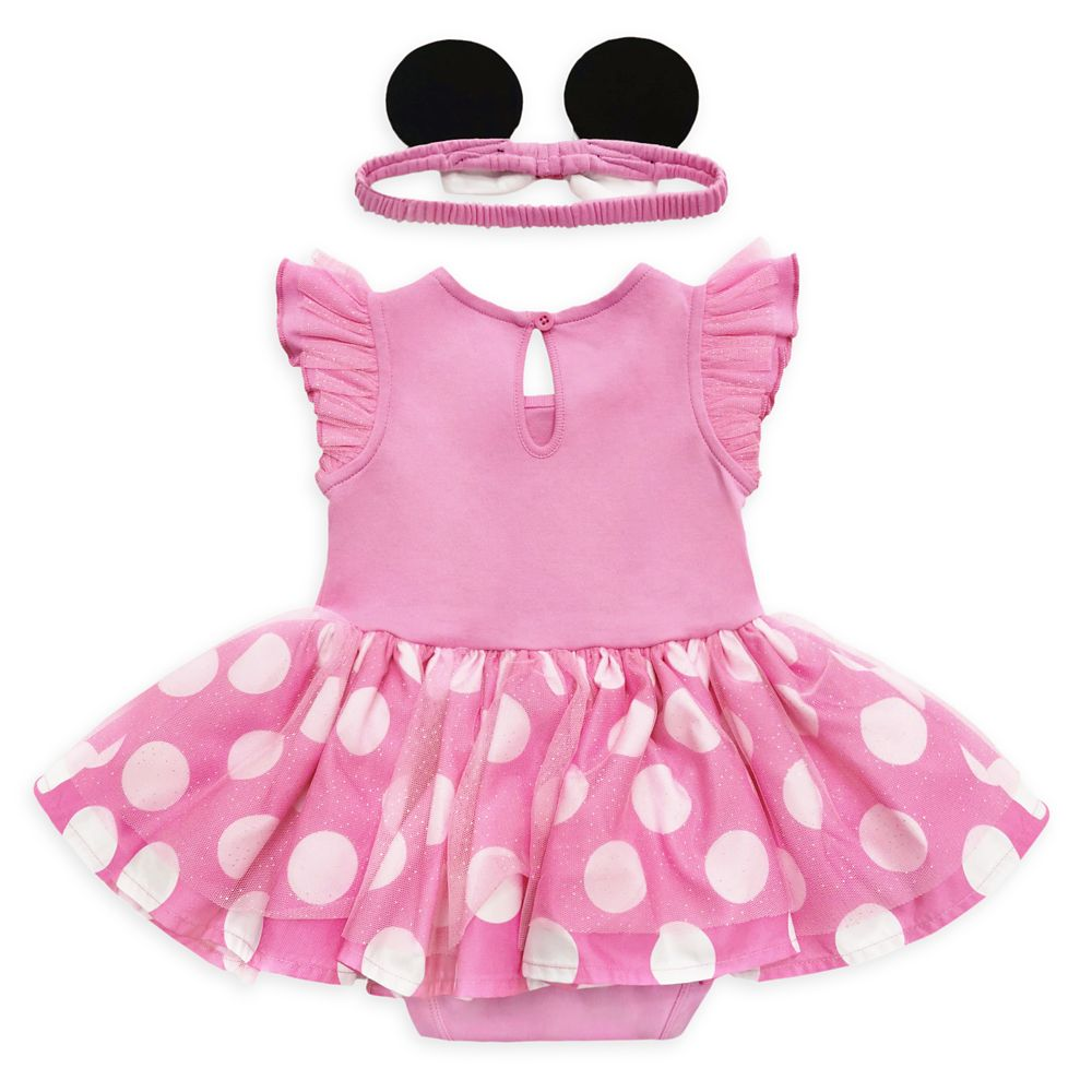 Minnie Mouse Costume Bodysuit for Baby – Pink