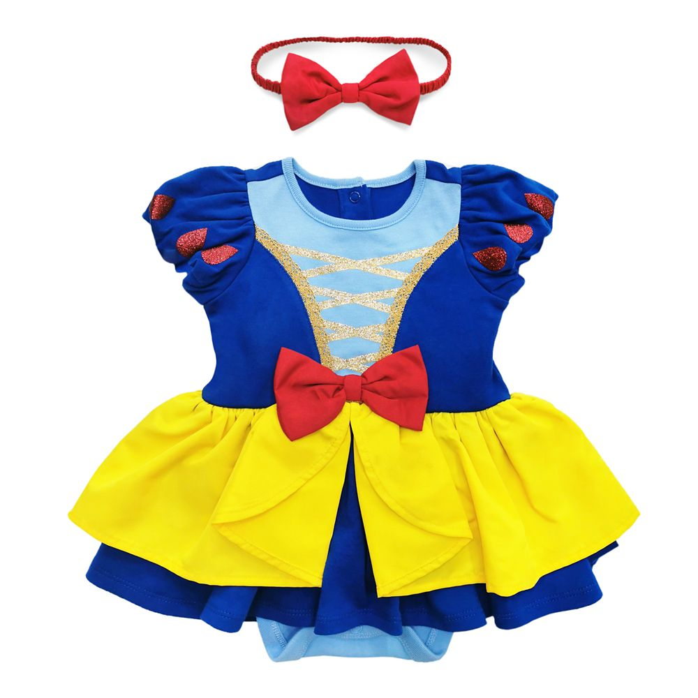 Halloween Outfit for Baby Girls 4 Piece Set Romper Dress Set Gift