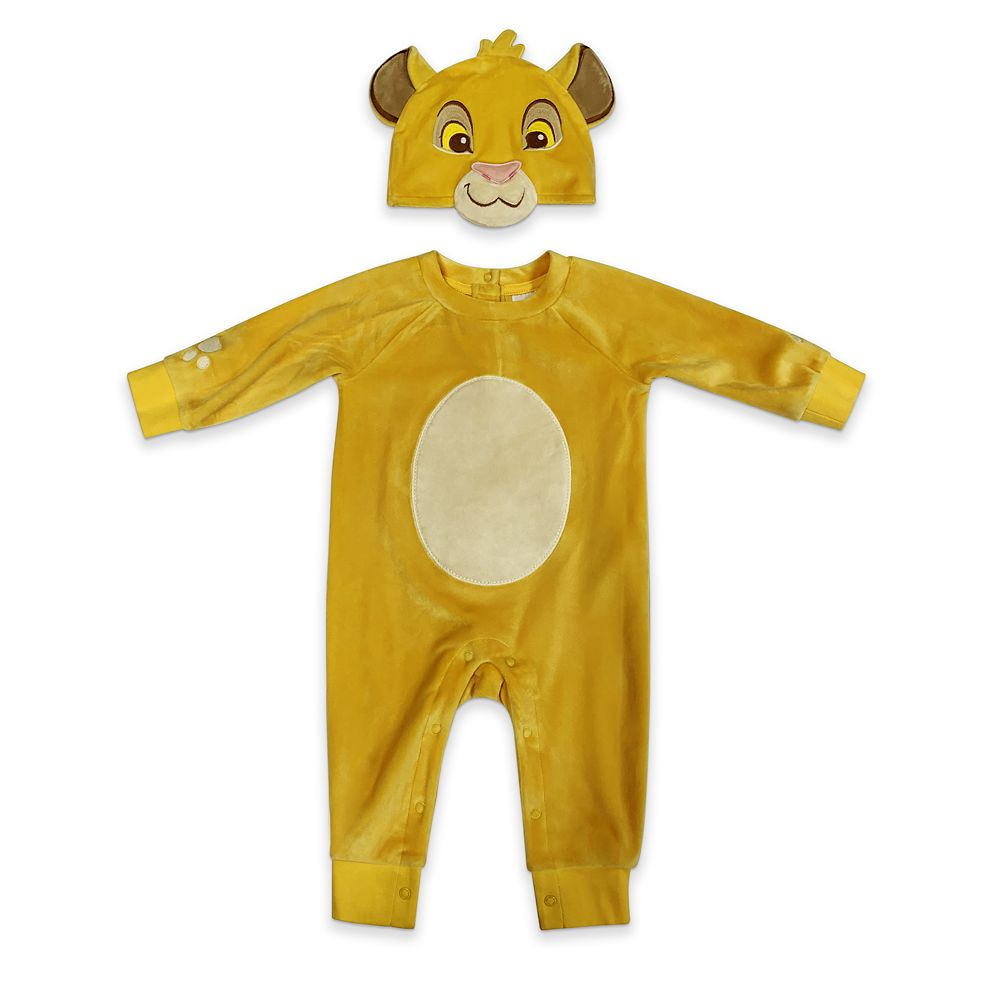 Simba Costume Romper for Baby
