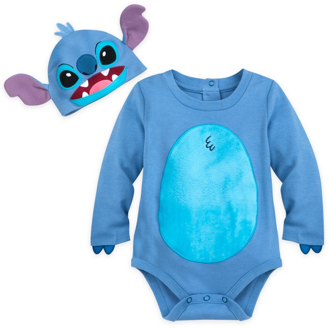 Stitch Costume Bodysuit Set for Baby – Personalized