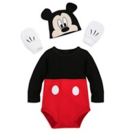 Mickey Mouse Costume Bodysuit for Baby – Personalized