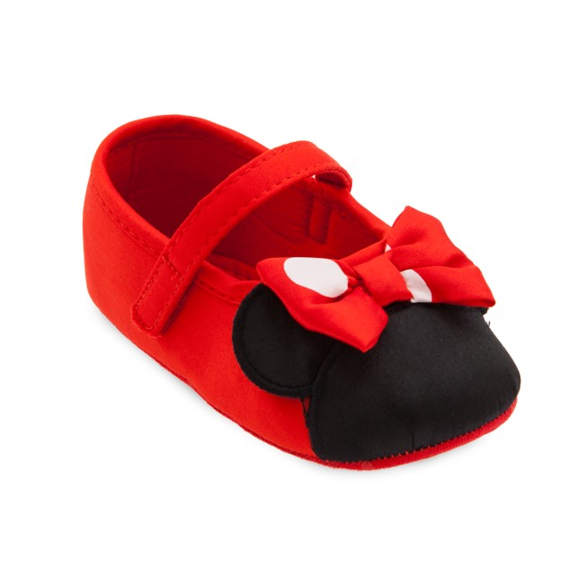 Minnie Mouse Costume Shoes for Baby – Red