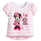 Minnie Mouse ''I Am 2'' Birthday Tee for Baby
