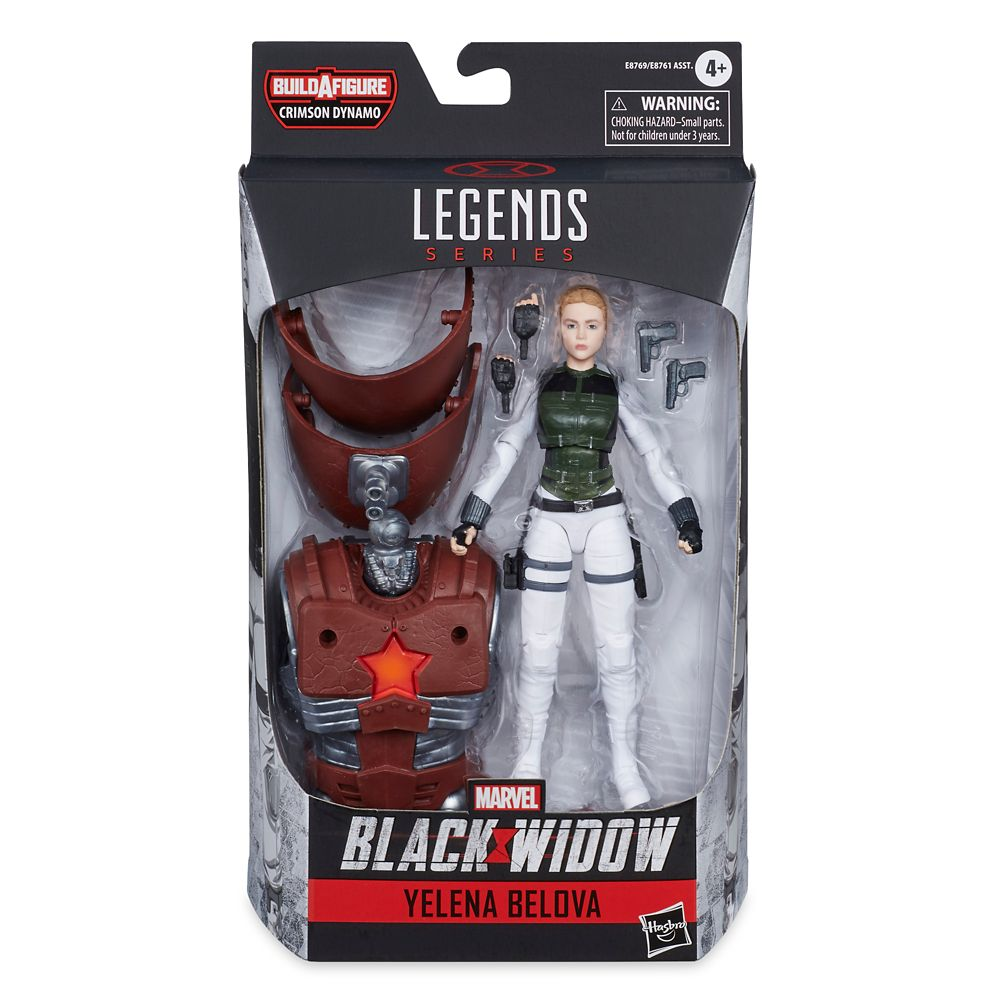 Yelena Belova Action Figure – Marvel Black Widow Legends Series