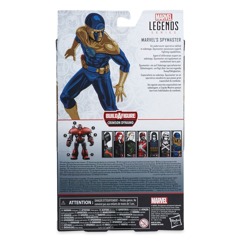 Spymaster Action Figure – Marvel Black Widow Legends Series