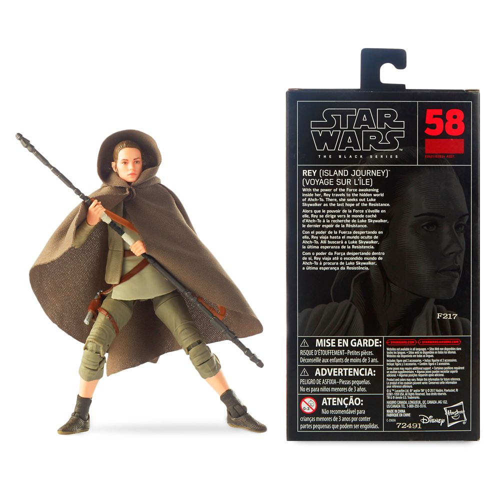 Rey Action Figure – Star Wars: The Last Jedi – The Black Series