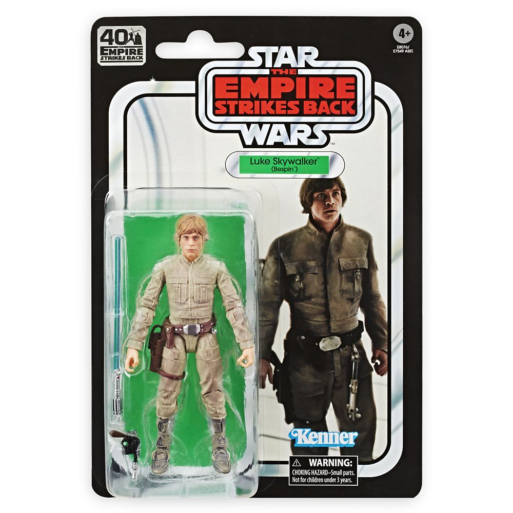 Luke Skywalker (Bespin)  Star Wars: The Empire Strikes Back 40th Anniversary Action Figure  The Black Series Official shopDisney