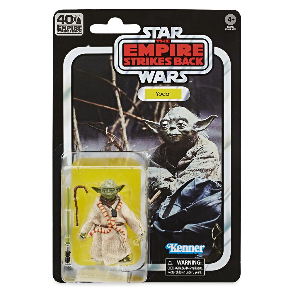 Yoda Star Wars The Empire Strikes Back 40th Anniversary Action Figure The Black Series Shopdisney