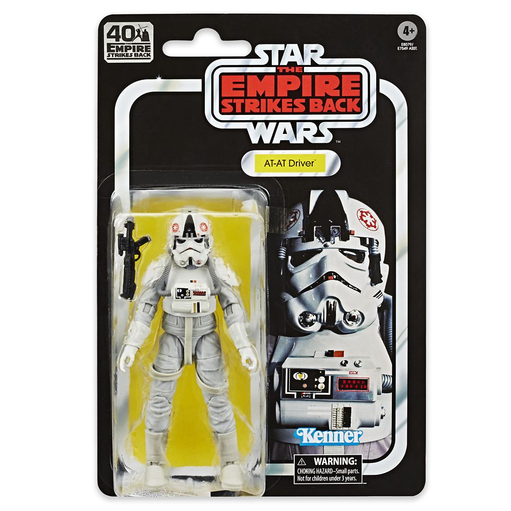 AT-AT Driver – Star Wars: The Empire Strikes Back 40th Anniversary Action Figure – The Black Series