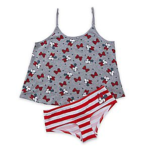 Image of Minnie Mouse Cami and Brief Set for Women