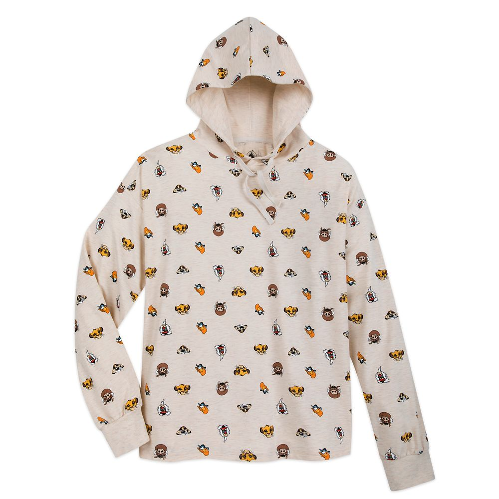 The Lion King Hooded Sleep Top for Women