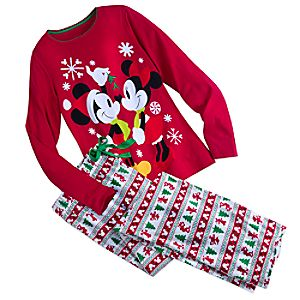 Mickey And Minnie Mouse Fun Family Pajamas for Women