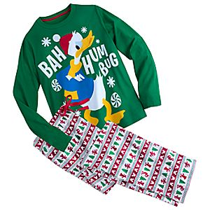 Donald Duck Fun Family Pajama Set for Men