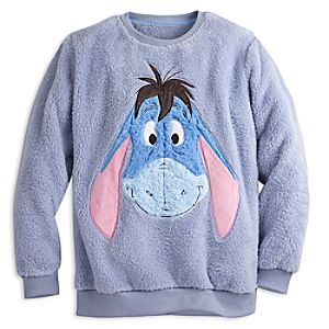 Eeyore Long Sleeve Loungewear Top for Women