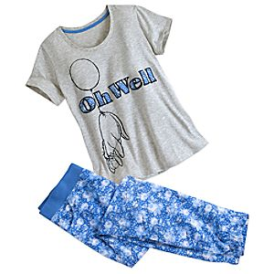 Eeyore Pajama Set for Women