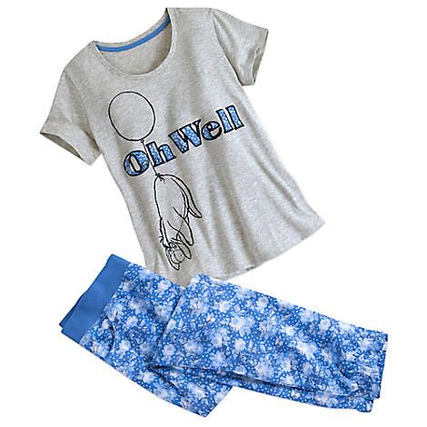 Eeyore Pajama Set for Women